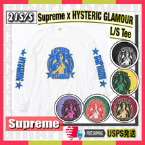 【21SS】SUPREME x HYSTERIC GLAMOUR L/S Tee 追跡あり