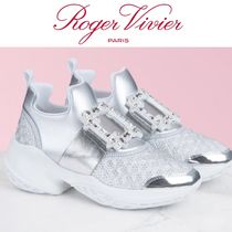 【Rojer Vivier】Viv'Run Sneakers Strass Buckle