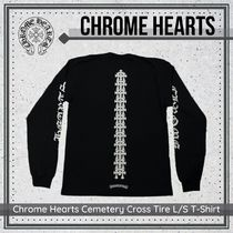 {Chrome Hearts} Cemetery Cross Tire L/S T-Shirt 送料関税込