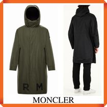 MONCLER Long reversible parka COFFRE