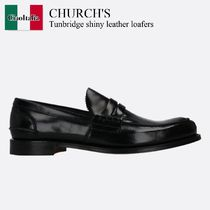 Church'S Tunbridge shiny leather loafers