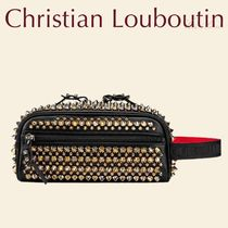 Christian Louboutin バッグ S Blaster 黒 スパイク 男 CL 新作