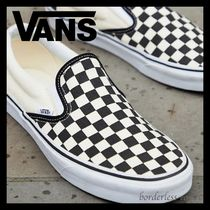 *VANS*Classic Slip on checkerboard trainers*王道チェック