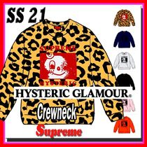 4 week SS 21 Supreme HYSTERIC GLAMOUR Crewneck