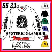 4 week SS 21 Supreme HYSTERIC GLAMOUR L/S Tee