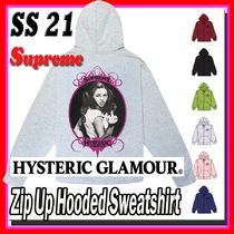 SS 21 Supreme HYSTERIC GLAMOUR Zip Up Hooded Sweatshirt