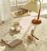 【DECO VIEW】Cottage Yellow Flower Tablecloth