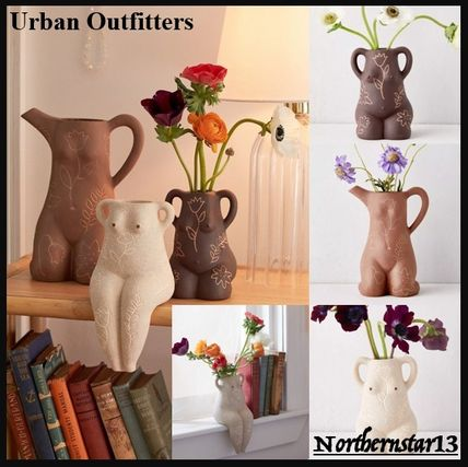 Urban Outfitters 花瓶・植木鉢 【Urban Outfitters】Leggy Lady Vase★ヌードデザインの花瓶