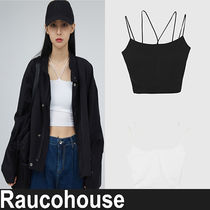 ★RAUCOHOUSE★『日本未入荷』 Cross-line strap sleeveless