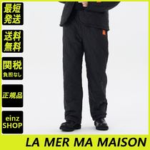 【LA MER MA MAISON】QUILTING STRING BAND PANTS
