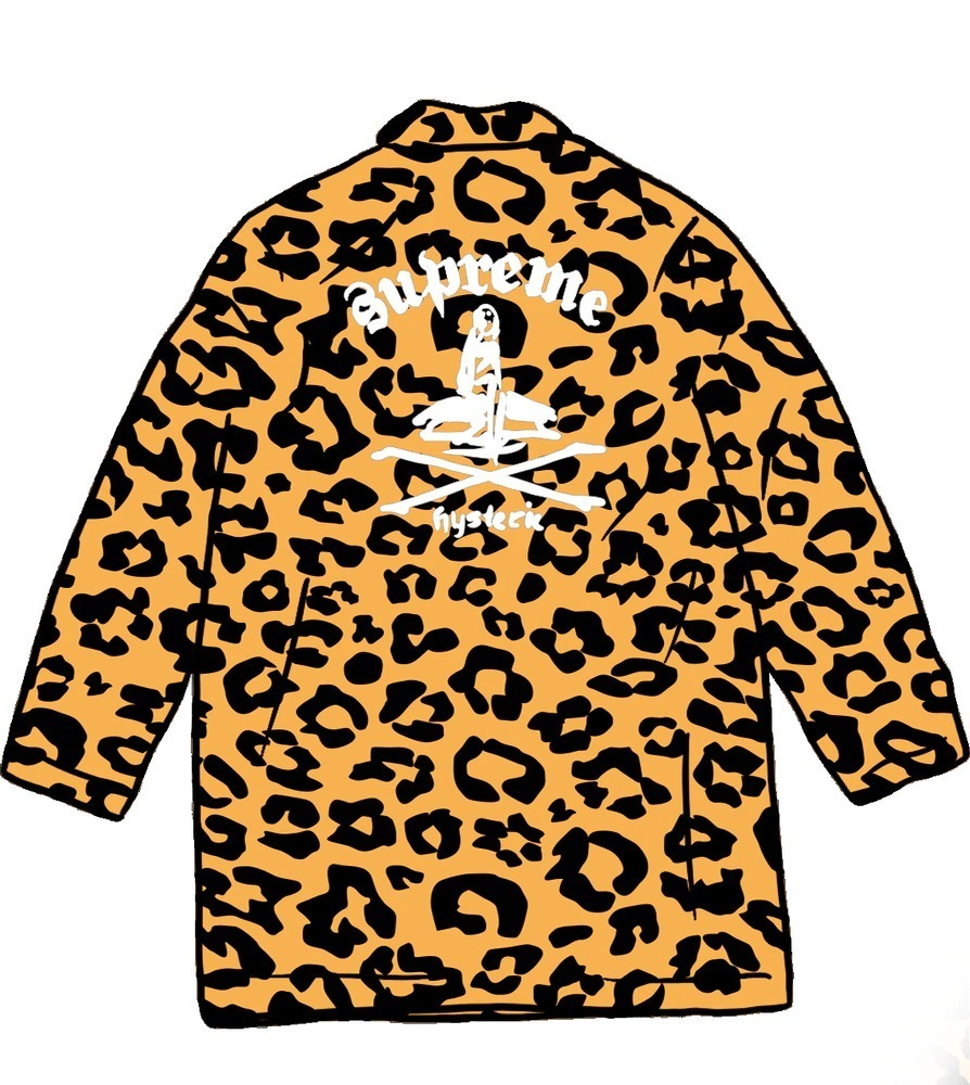 Supreme x HYSTERIC GLAMOUR  Leopard Trench ss 21 WEEK 4 (Supreme/トレンチコート) 66373273