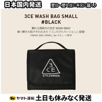3 CONCEPT EYES(スリーコンセプトアイズ) ポーチ 3CE WASH BAG_SMALL #BLACK