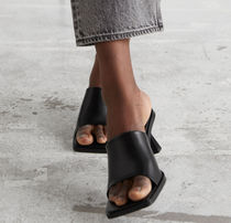 """""""& Other Stories""""新作☆Squared Toe Heeled Leather Mules"""