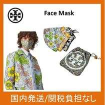 【Tory Burch】PRINTED FACE MASK3枚セット☆ポーチ付き