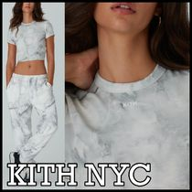 KITH NYC(キスニューヨークシティ) Tシャツ・カットソー KITH*Women Marble Mulberry Tシャツ 国内発送★送料込