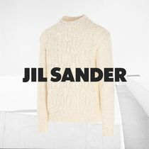 送料関税込★Jil Sander Braided Cotton sweater