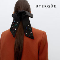 【Uterque】CRYSTAL DETAIL COLLETER