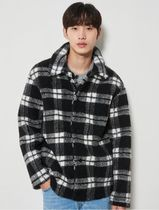 8seconds 20FW Black Check Book Lip Pocket Shucket