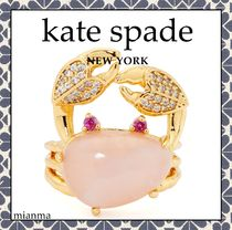 Kate Spade*シー スター クラブ ステートメント リング ピンク