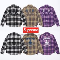 SS21 Supreme HYSTERIC GLAMOUR Plaid Flannel Shirt