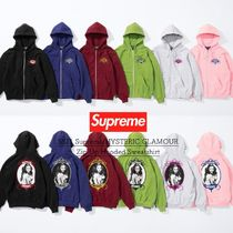 SS21 Supreme HYSTERIC GLAMOUR  Zip Up Hooded Sweatshirt