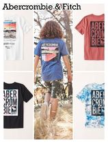 Abercrombie & Fitch(アバクロ) キッズ用トップス Abercrombie & Fitch ☆ 新作商品!! ☆ ロゴTシャツ 5色!!