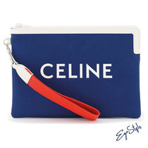 CELINE SMALL POUCH WITH LOGO