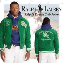NEW!【Polo Ralph Lauren】Ralph's Equine Club Jacket-Green