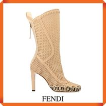 FENDI REFLECTIONS ANKLE BOOTS