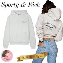 関税送料込★Sporty & Rich★Wellness Studio フーディー