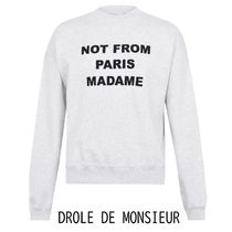 *DROLE DE MONSIEUR*MONSIEUR EMBROID スウェット