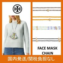 【Tory Burch】FACE MASK CHAIN★ロゴが可愛い★