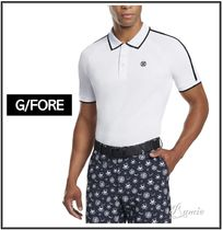 G FORE(ジーフォア) ポロシャツ 【G FORE】SIDELINE RAGLAN POLO◆ロゴ|ポロゴルフウェア