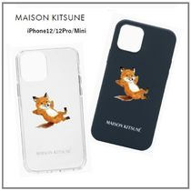 iPhone12★Maison Kitsune★CHILLAX FOX ケース☆2type