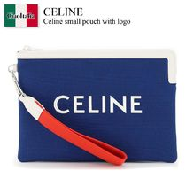 CELINE(セリーヌ) クラッチバッグ Celine small pouch with logo