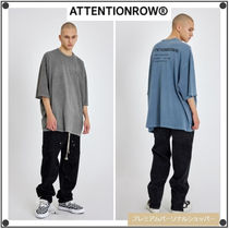 ATTENTIONROW(アテンションロー) Tシャツ・カットソー ATTENTIONROWのRecycle Fuse Pigment Over fit Short Sleeve Tee