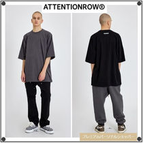 ATTENTIONROW(アテンションロー) Tシャツ・カットソー ATTENTIONROWのShoulder Liner Over Fit T-Shirt 全3色