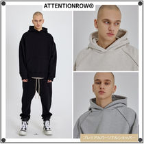 ATTENTIONROW(アテンションロー) パーカー・フーディ ATTENTIONROWのSolid Curve Tunnel Oversized Fit Setup Hoodie