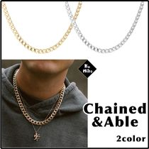 【Chained&Able/送料無料】CUBAN LINK CHAIN ネックレス 2color