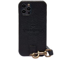 VALENTINO LOGO NECK IPHONE 12 PROケース