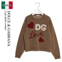 Dolce & Gabbana Logo patch sweater