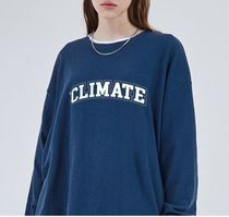 【ONA】CLIMATE ロゴ ロングスリーブ Tシャツ(3color)[YMMI0096]