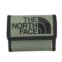 THE NORTH FACE 3つ折小銭付き財布 00CE69 BASE CAMP GREEN