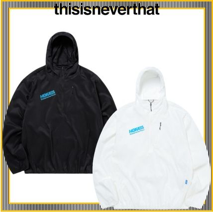 [thisisneverthat] TNT HOKA Wind-Resistant Hooded Pullover