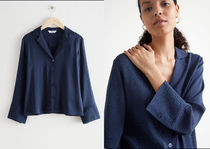 【& Other Stories】Relaxed Wide Sleeve Jacquard Shirt 送料込