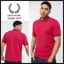 FRED PERRY(フレッドペリー) メンズ・トップス 【Fred Perry】Men's ポロシャツ ツインチップ ラズベリー