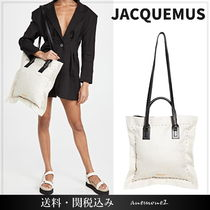 JACQUEMUS ☆ 新作 le Coussin 2WAY キャンバストート 送関込