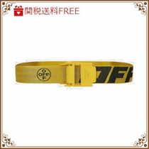 ★Off-White★ Industrial 2.0 logoed fabric belt