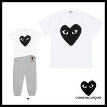 COMME des GARCONS(コムデギャルソン) キッズ用トップス ★COMME des GARCONS play kids★ビッグハート コットンTシャツ