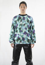 MARNI GCMG0167P0 ROUNDNECK SWEATER FLORAL